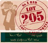 Lot 205 No 1 Red